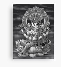 Ganesha the Great Canvas Print