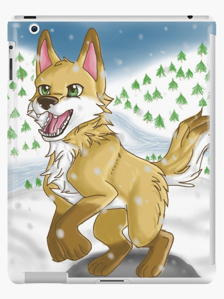 Snow Wolf by Bamsdrawz