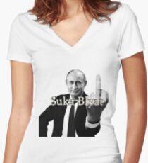 Coucou de tonton vlad T-shirt col V femme