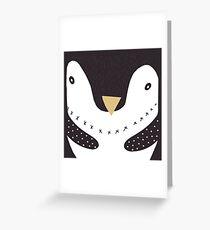 Nordic penguin Greeting Card