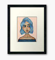 Bemused Framed Print