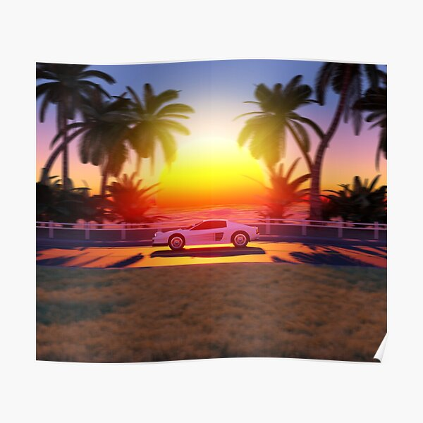 Sunset Drive Poster