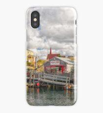 Wharf Hags iPhone Case
