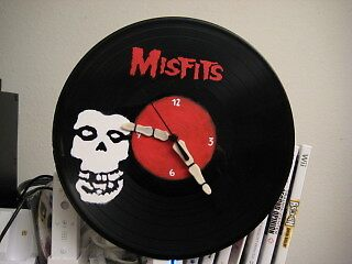 Misfits Clock by RoboBarb