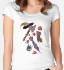 Adventure Zone Inventory Women's Fitted Scoop T-Shirt