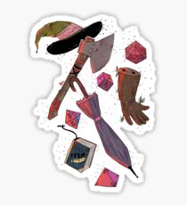 Adventure Zone Inventory Sticker