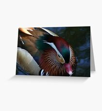 Magenta Beak Greeting Card