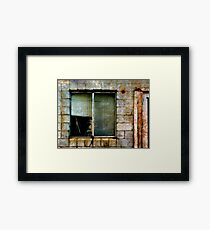 Any Body There?? Framed Print