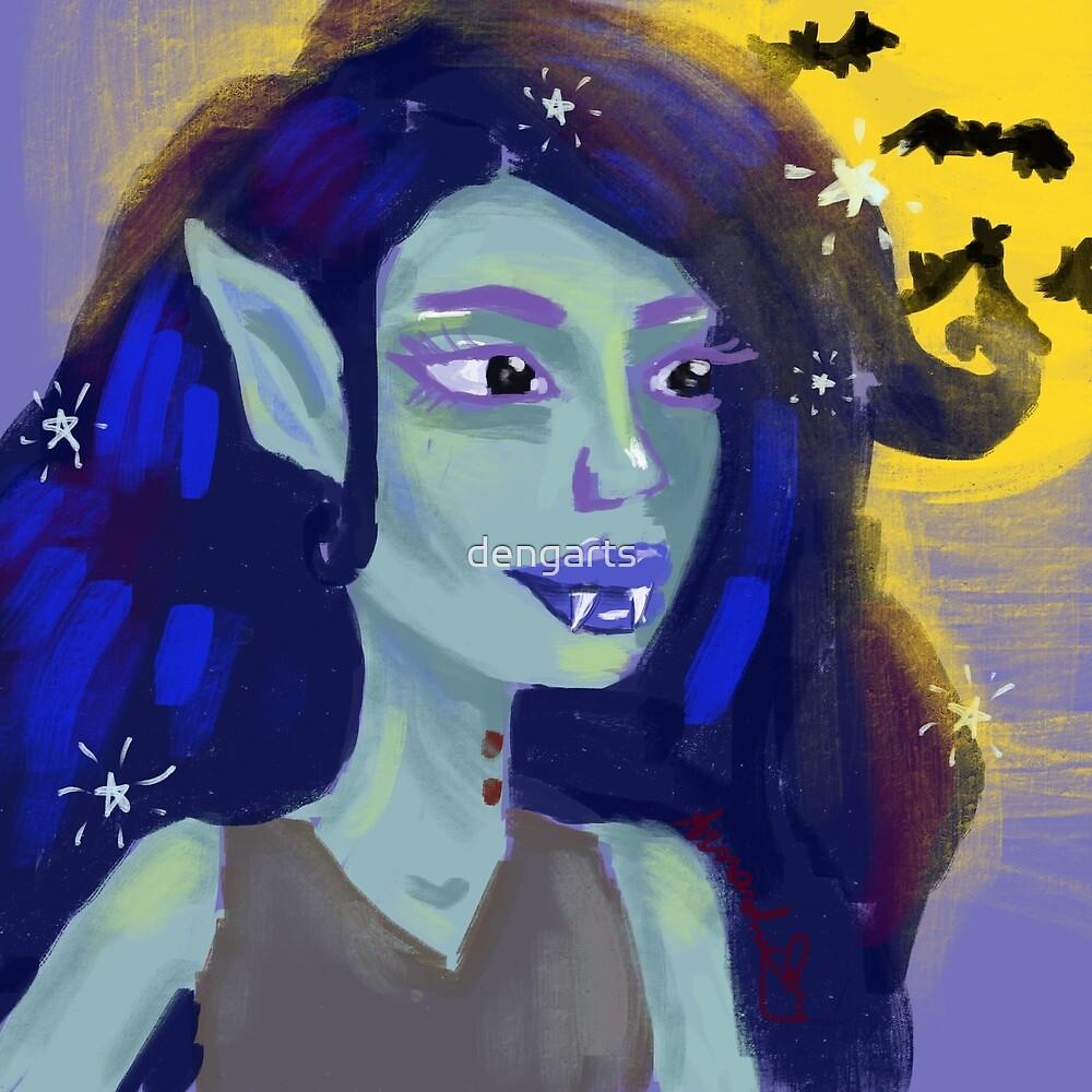 The Vampire Queen by dengarts