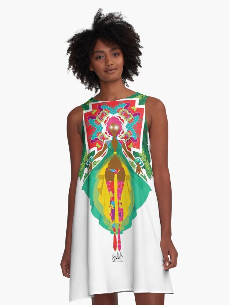 Calypso A-Line Dress Front
