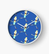 Mr. Poopy Butthole (Rick & Morty) Design Clock