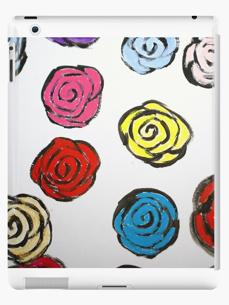 Painted Roses by Claire Stanford