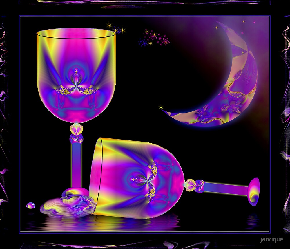 Too much Fractal Wine by janrique