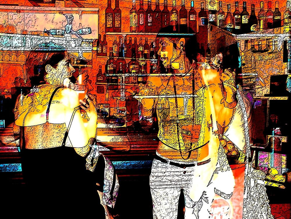 Happy Hour by Manwell Carvalho