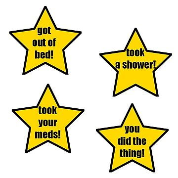 Positivity Stars Set by riotrainbows
