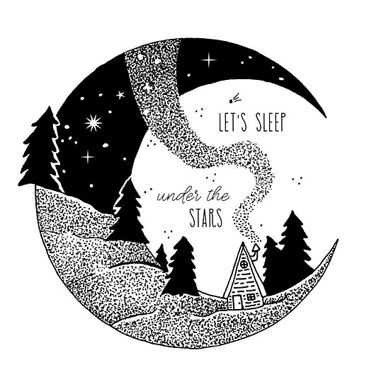 Let's Sleep Under the Stars by Laura-Lise Wong
