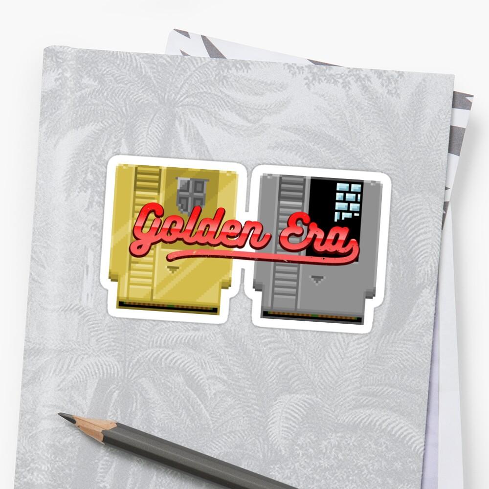 Golden Era [Pixel Art] by Carlos Tato