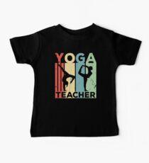 Yoga Teacher Vintage Retro Baby Tee