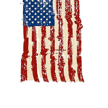 4th of July Independence Celebration American Flag by KryshalDesigns