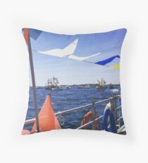 Provincetown Blessing of the Fleet Throw Pillow