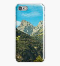 Berge Schweiz iPhone Case/Skin