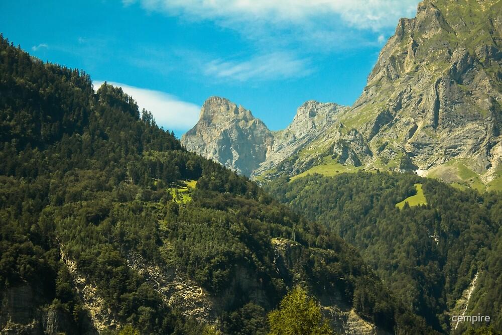 Mountains Switzerland by cempire