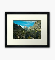 Berge Schweiz Framed Print
