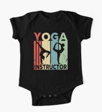 Yoga Instructor Vintage Retro One Piece - Short Sleeve