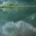 On the walk around Lake Trubsee Switzerland 19840815 0057 by Fred Mitchell
