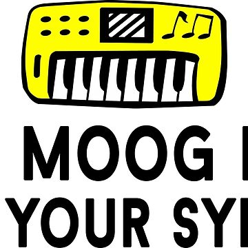 Boob Moog Died For Your Synths by azvinylworks