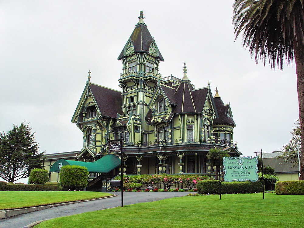 Victorian House by Jim  Grossi