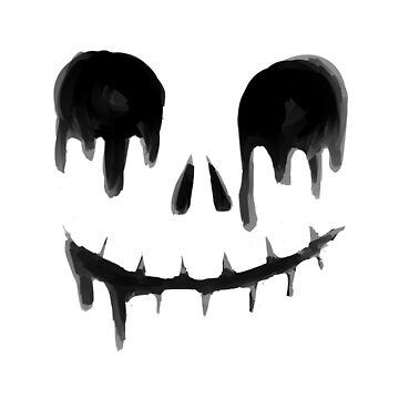 Dripping Skull by dropdeadgoth