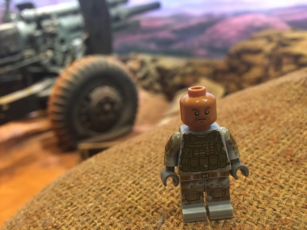 Brickography Pictures - War by Phantomdrummer