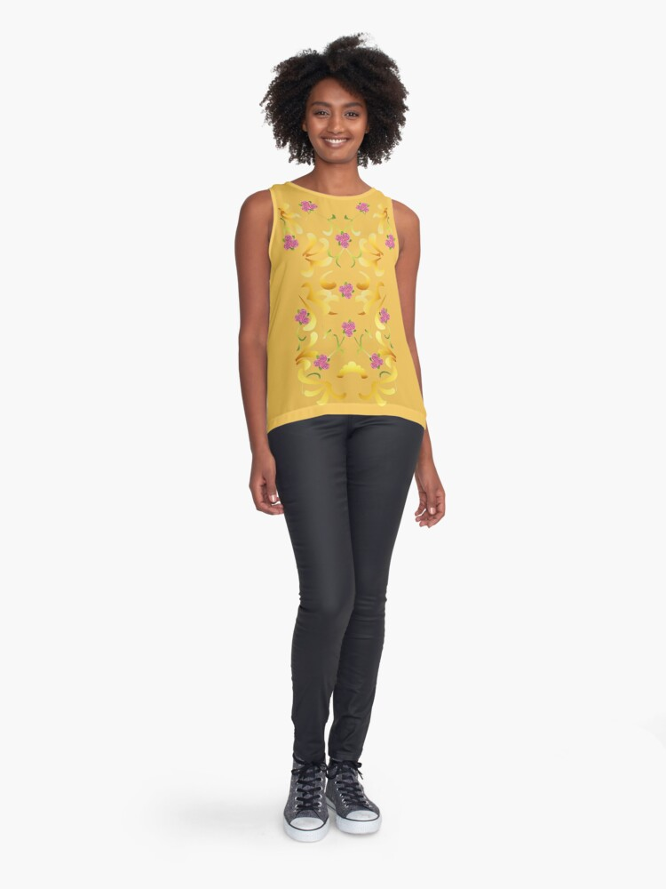 Alternate view of Meadow Picnic Sleeveless Top