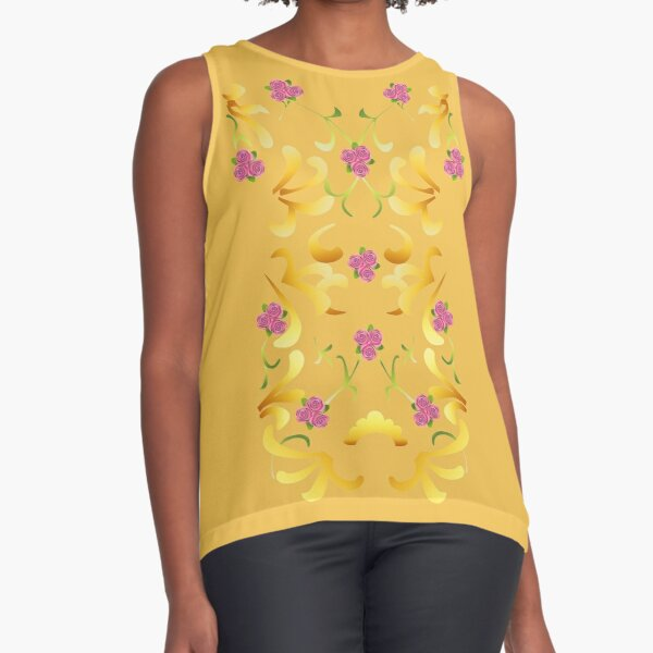 Meadow Picnic Sleeveless Top