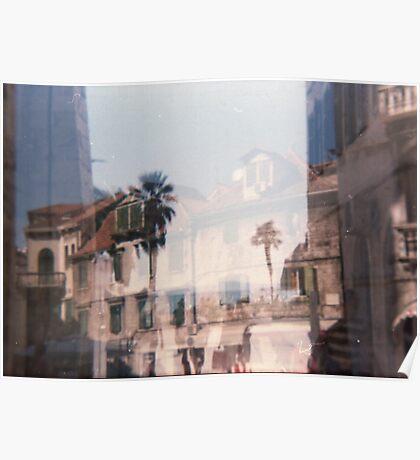 Croatia - lomography Poster