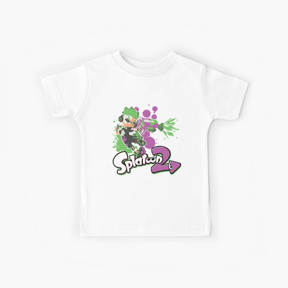 Splatoon 2 Inkling Boy Kids T-Shirt