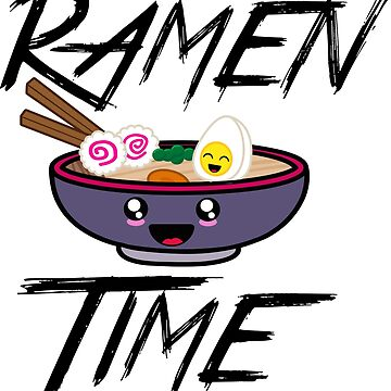 Ramen Time by azvinylworks