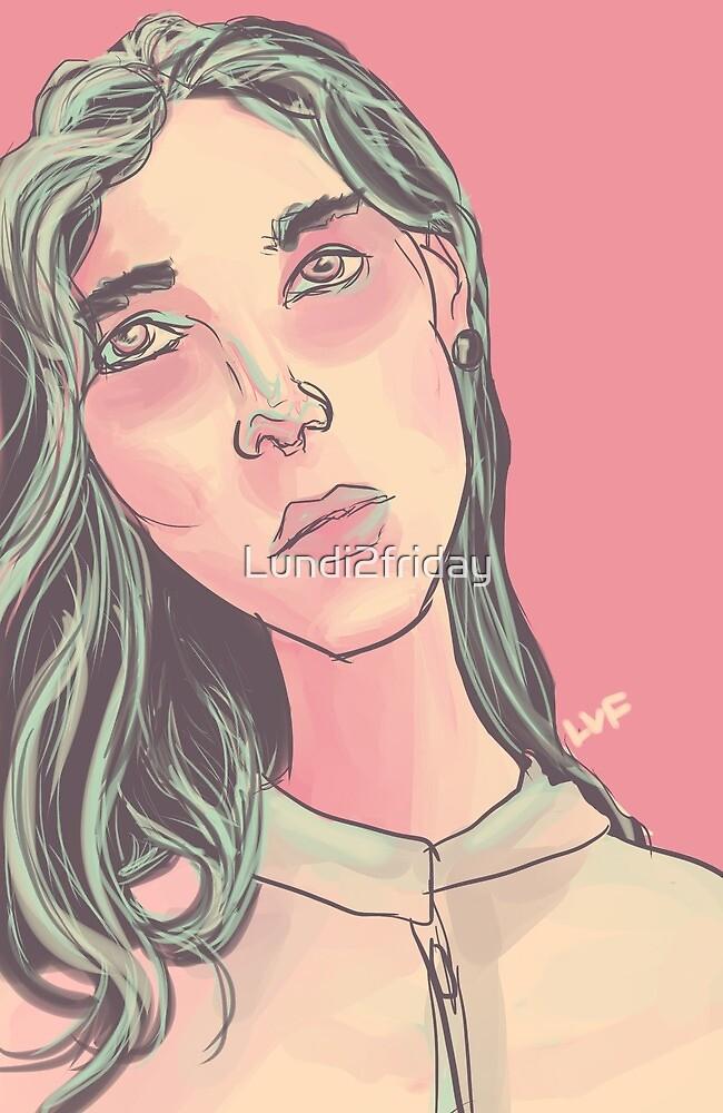 Pop art girl by Lundi2friday