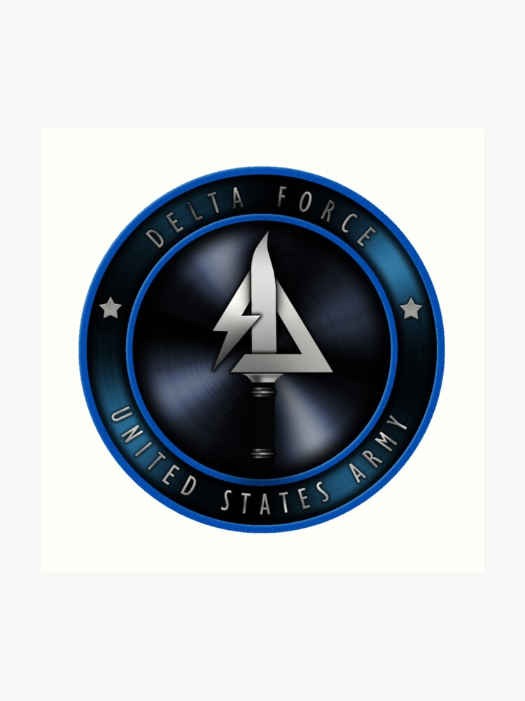 Delta Force Logo | Art Print