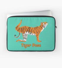 Animal Yoga Tiger Pose Laptop Sleeve
