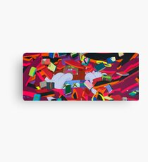 "KAWS, ""Silent City"" 2011 Canvas Print"