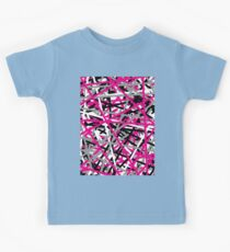 Pink Criss Cross Kids Clothes