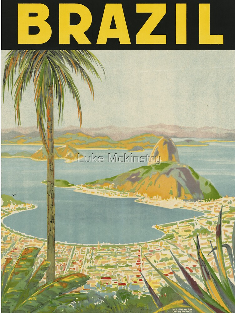 1940s Painting of Brazil by Lueshis