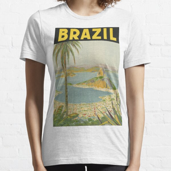 1940s Painting of Brazil Essential T-Shirt