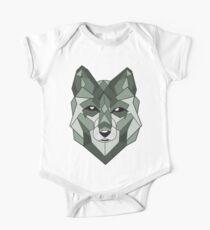 Wolf Animals One Piece - Short Sleeve