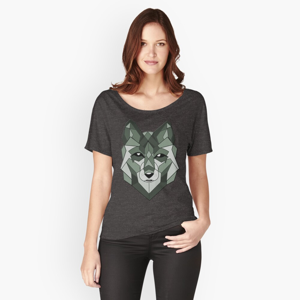 Wolf Animals Women's Relaxed Fit T-Shirt Front