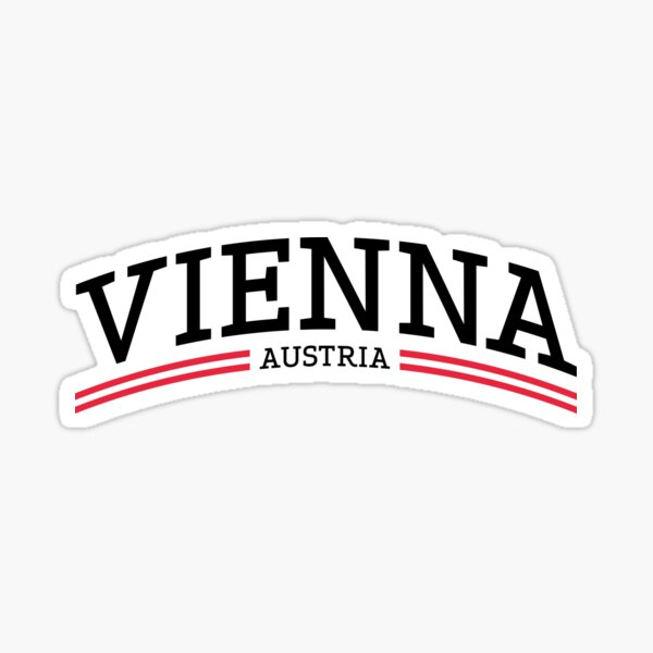 Vienna Austria Sticker