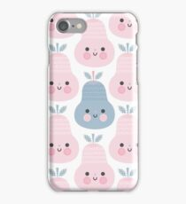 Pink Pear by The Ink House iPhone Case/Skin
