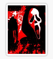 Scream Sticker